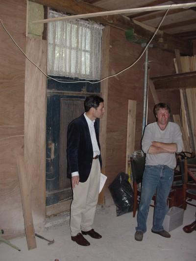 Inspectie historische interieurs.